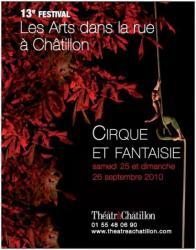 Affiche Festival Cirque Fantaisie