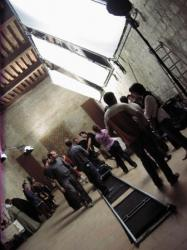 Travelling tournage - La Forteresse Royale de Chinon