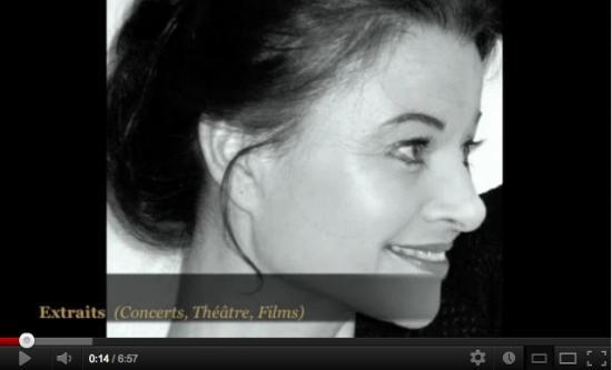 Roxane Lebrun - Comédienne - Démo CHANT