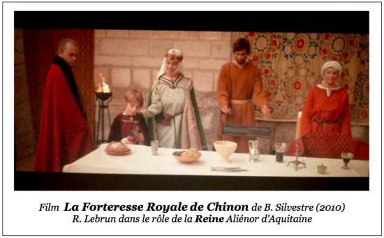 Film LA FORTERESSE ROYALE DE CHINON (2009) - R.Lebrun : La Reine Aliénor