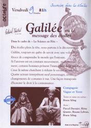 GALILEE Messager des Etoiles - Festival