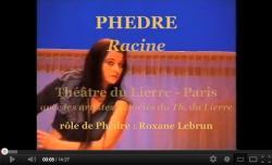 Roxane Lebrun - rôle de Phèdre