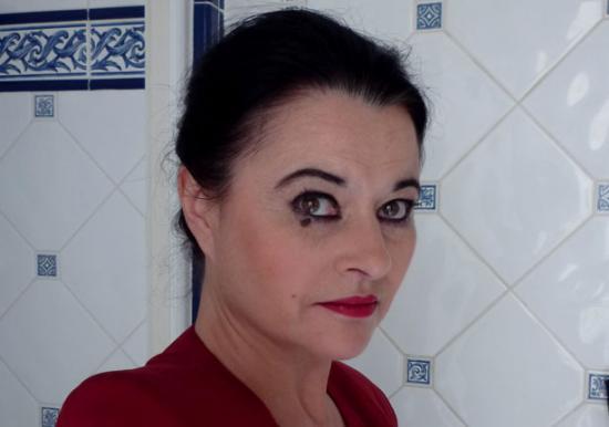 Film L'heure du thé - R.Lebrun : La Femme (criminelle)
