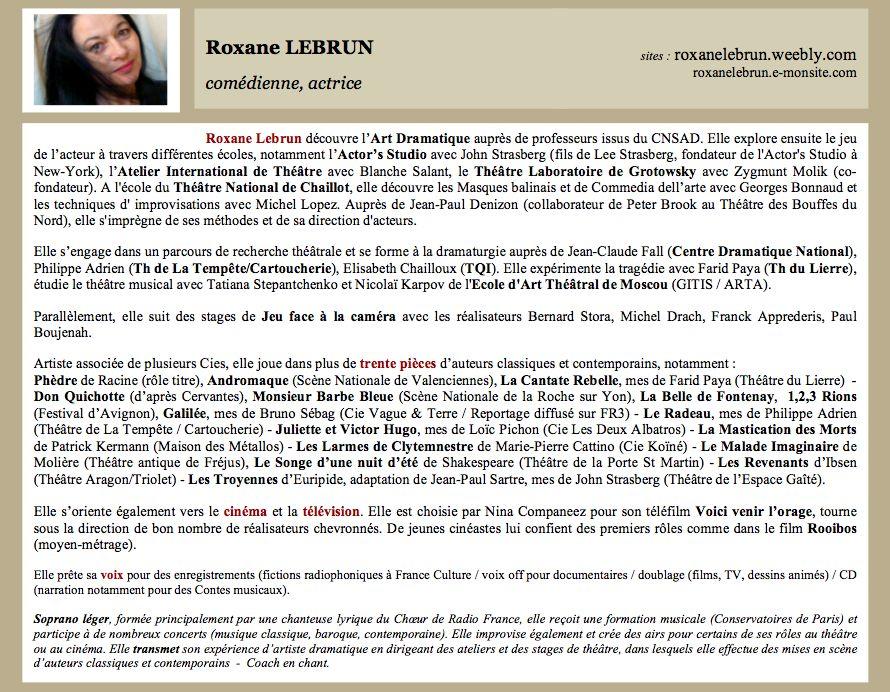 exemple de biographie professionnelle pdf
