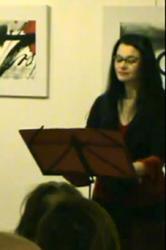 Roxane Lebrun - rôle de Clytemnestre (et chant)