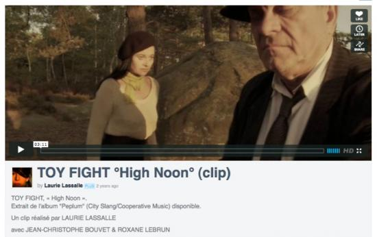 Film High Noon - groupe Toy Fight